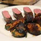 Lamb with Sweet Potato & Spinach balls