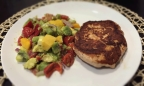 Chipotle Salmon Burgers With Mango Salsa