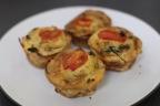 Proscuitto Wrapped Mini Frittata Muffins