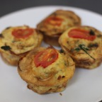 Proscuitto Wrapped Mini Frittata Muffins