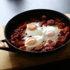 Mexican Hash Egg Bake