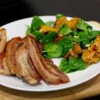 Pumpkin and Pine Nut Salad